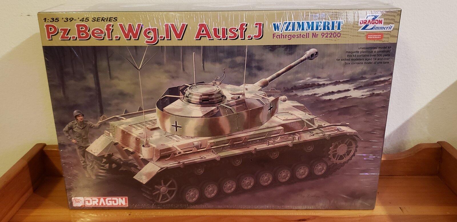 DRAGON 6823  1 35  Pz.Bef.Wg.IV Ausf.J Zimmerit