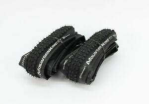 2x-Continental-Mountain-King-CX-35mm-Faltreifen-CycloCross-Gravel-Reifen-700x35C