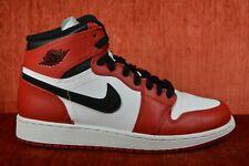 5b33bc40dc4342 Nike Air Jordan 1 Bulls Banned Bred 332558 163 Air Max BG GS Sz 4 Y ...