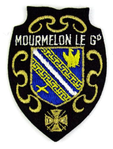 patch//crest embroidered ♦ MOURMELON LE GRAND Ecusson brodé ♦