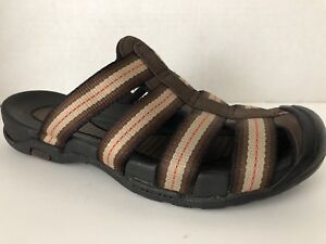 Lands-End-Shoes-Womens-Size-6-B-Brown-Sandals-6B-Closed-Toe-282257
