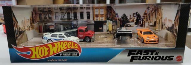 Mattel, Hot Wheels Premium FAST & FURIOUS Set. NIB (F32)