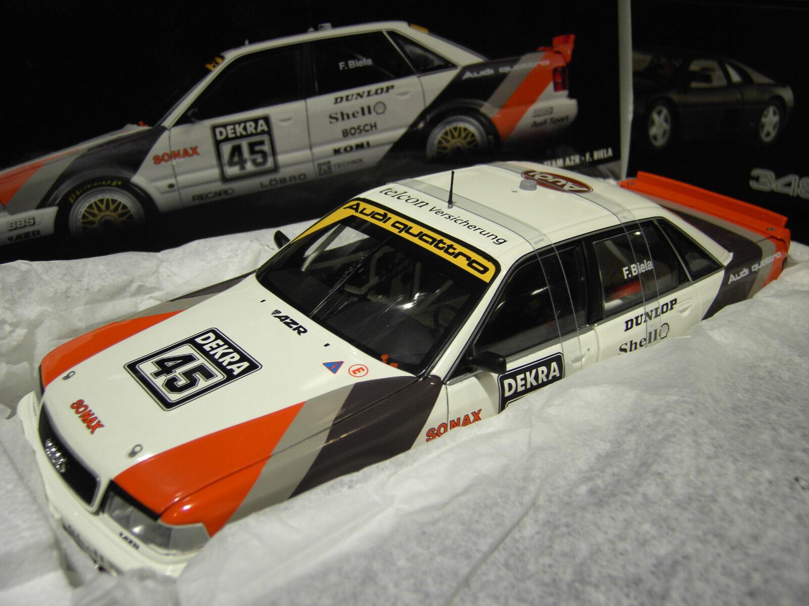 AUDI V8 QUATTRO   DTM 1991   45 au 1 18 de MINICHAMPS 100911045 voiture miniature  pas cher
