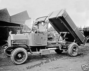 trucks Vintage dump