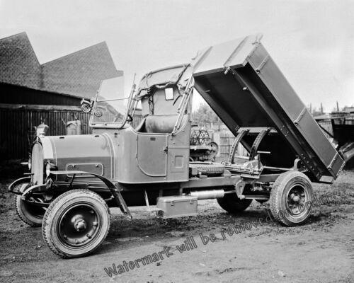 Photograph  2.5 Ton Vintage Swedish Scania-Vabis Dump Truck  1924   8x10