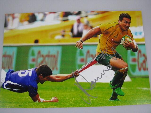 DIGBY IOANE Hand Signed HUGE 12'x18' Photo + Photo Proof