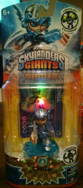 NIB Lightcore Chill Skylanders Giants Swap Force Trap Team Supercharger Universa