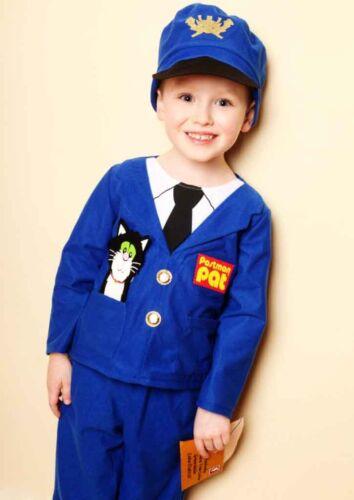 Childrens World Book Week Fancy Dress Costume Postman Pat 3,4,5 years