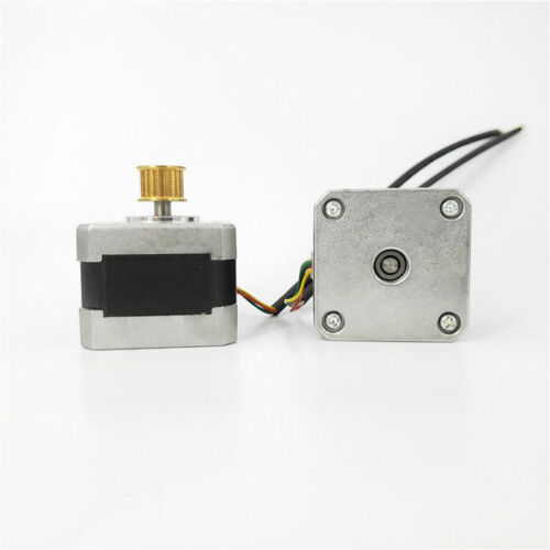 1.8 Deg NEMA 17 2-phase 4-wire Stepper Motor Copper pulley RepRap CNC 3D printer