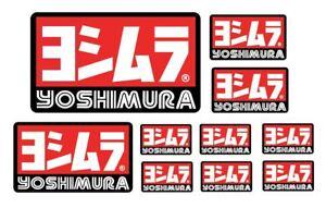 10 Adesivi Yoshimura Black Resistente Al Calore RafraîChissant Et BéNéFique Pour Les Yeux