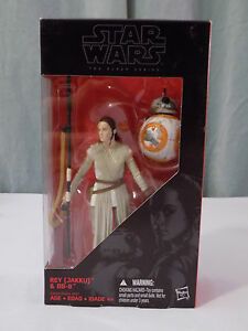 """Star Wars Authentic Black Series 6/"""" inch REY /& BB-8 version #02 2 loose complet"""