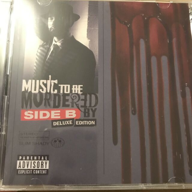 EMINEM - MUSIC TO BE MURDERED BY SIDE B DELUXE 2 CD BRAND NEW/SEALED