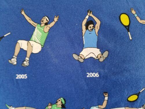 Nike Boys Rafael Nadal Roland Garros 9 RG Mayor Celebration T Shirt