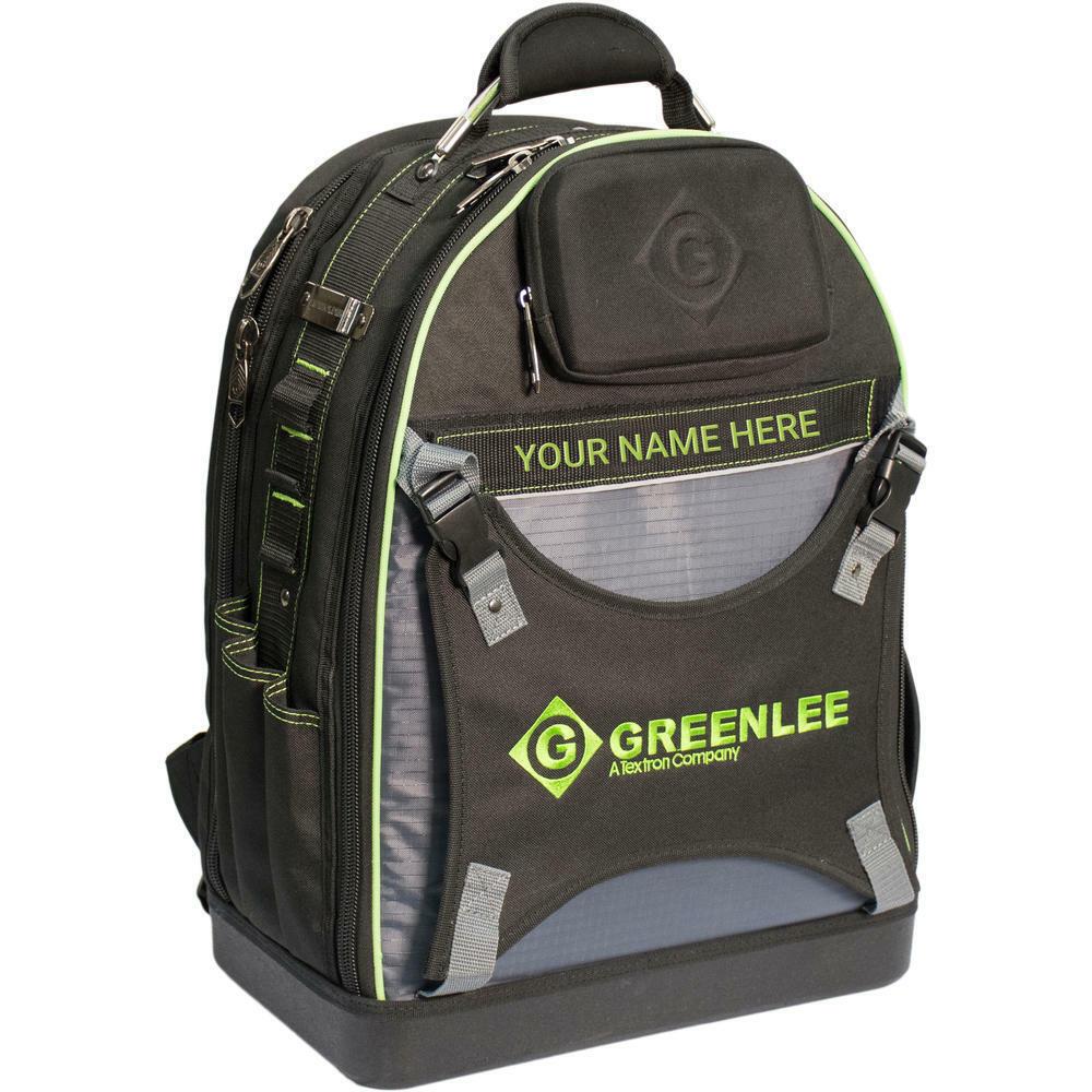 Greenlee 0158-26 Professional Tool Backpack