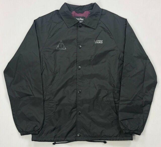 Vans Deathly Hallows Harry Potter Torrey Jacket Men S Medium Vn0002musp5 For Sale Online Ebay