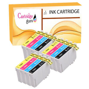 12-Ink-Cartridge-For-Epson-Stylus-Printer-SX235W-SX420W-SX425W-SX435W-SX438W