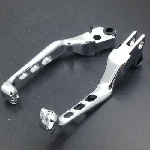Chrome CNC Aluminum Black Brake Clutch Lever for Harley Davidson XL Sportster