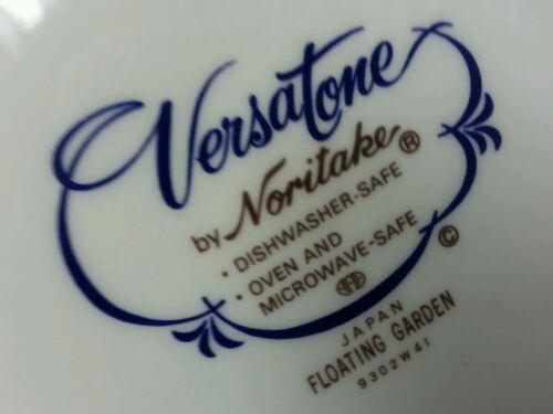 "NORITAKE VERSATONE /""FLOATING GARDEN/"" 8 1//4/"" SALAD PLATE MULTIPLES"