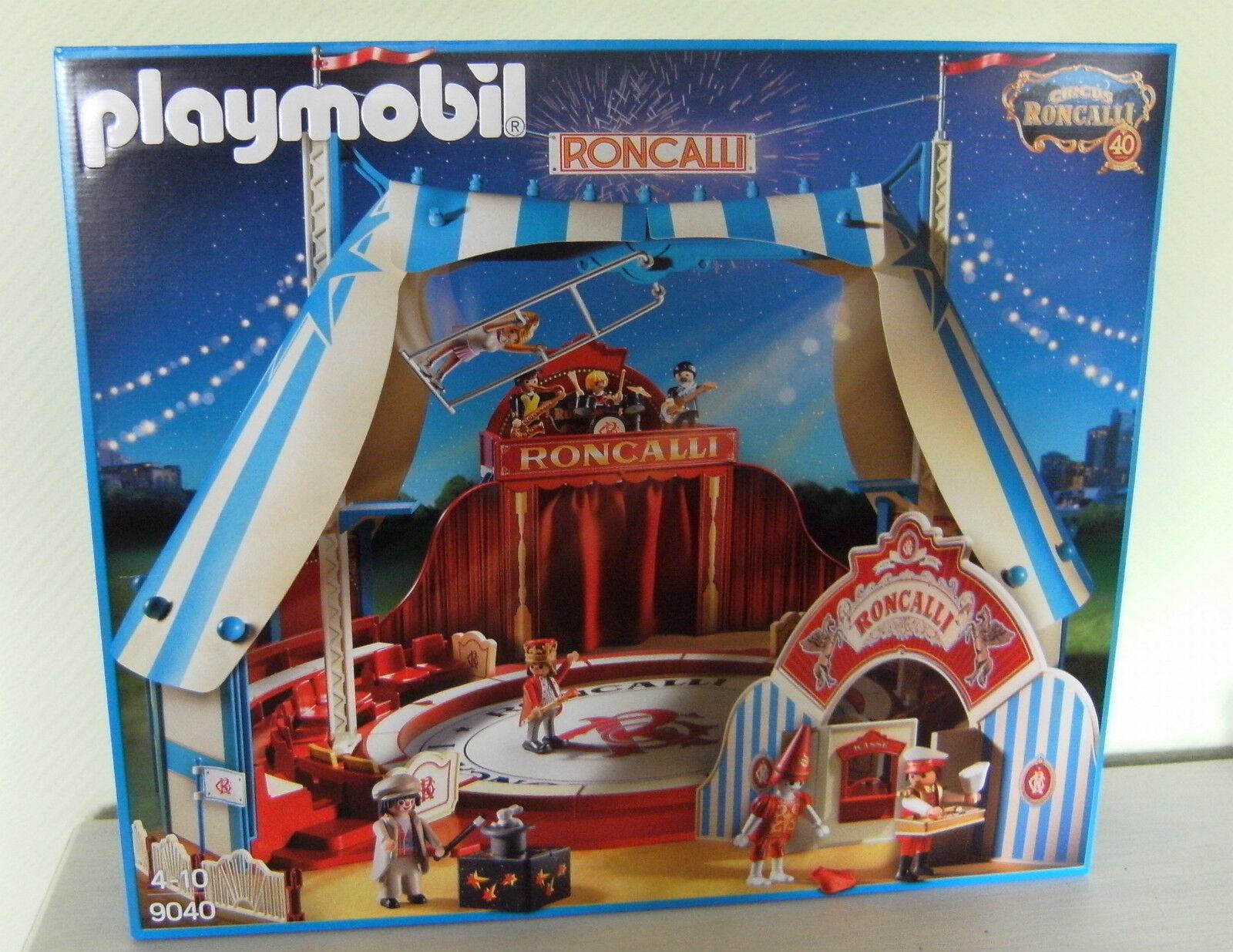 Playmobil Roncalli-Circus 9040 Neu & OVP Roncalli Zirkus Manege Circus
