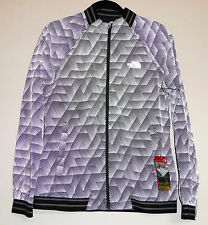The North Face RAPIDO MODA REFLECTIVE Running Cycling Safety Jacket Grey S M Med