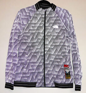 36617f987 Details about The North Face RAPIDO MODA REFLECTIVE Running Cycling Safety  Jacket Grey S M Med