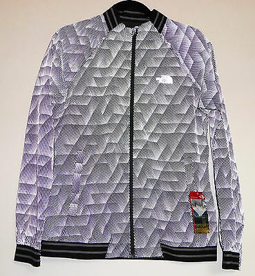 fabf70bd6 The North Face RAPIDO MODA REFLECTIVE Running Cycling Safety Jacket Grey S  M Med 706421833264 | eBay