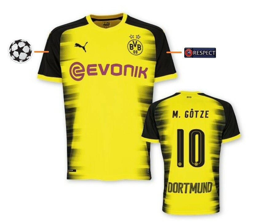 Trikot Borussia Dortmund 2017-2018 International  Champions League BVB