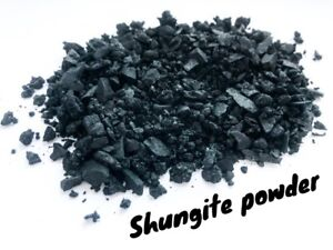 Details about Shungite Powder Natural 400gr (0 8lb) Protection Healing  Detoxification Karelia