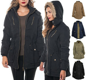 Peach-Skin-Parka-w-Faux-Fur-Lining-and-Detachable-Hood-Jacket-S-2XL
