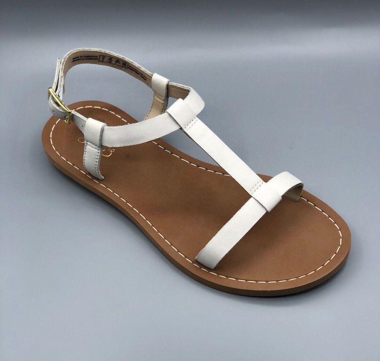 NEW Clarks  Voyage Hop  Ladies White Leather Flat Sandals UK 5.5 D