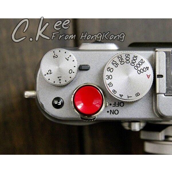 Metal Concave Shutter Release Button For Fujifilm X100 X10 X-E1 X-E2