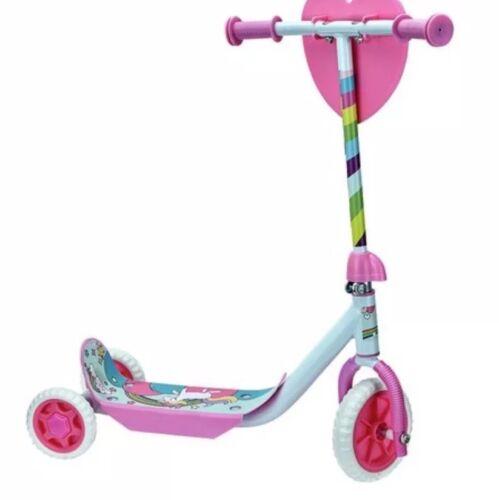 Chad Valley Unicorn First Tri Scooter Push outdoor Ride Kid Girls Children  Gift