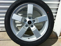 4 Set 20 Silver Ford F150 Lightning Expedition Wheels Rims W/ Tires 1997-04