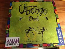Kosmos & Z-Man Games Ubongo Duel 2-player Puzzle Game Green box RARE light use