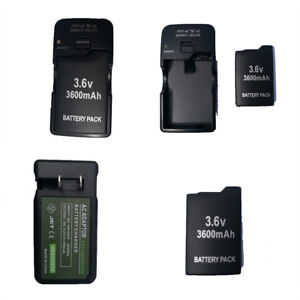 2x-3600mah-Rechargeable-Battery-for-Sony-PSP-110-PSP-1001-PSP-1000-AC-Charger