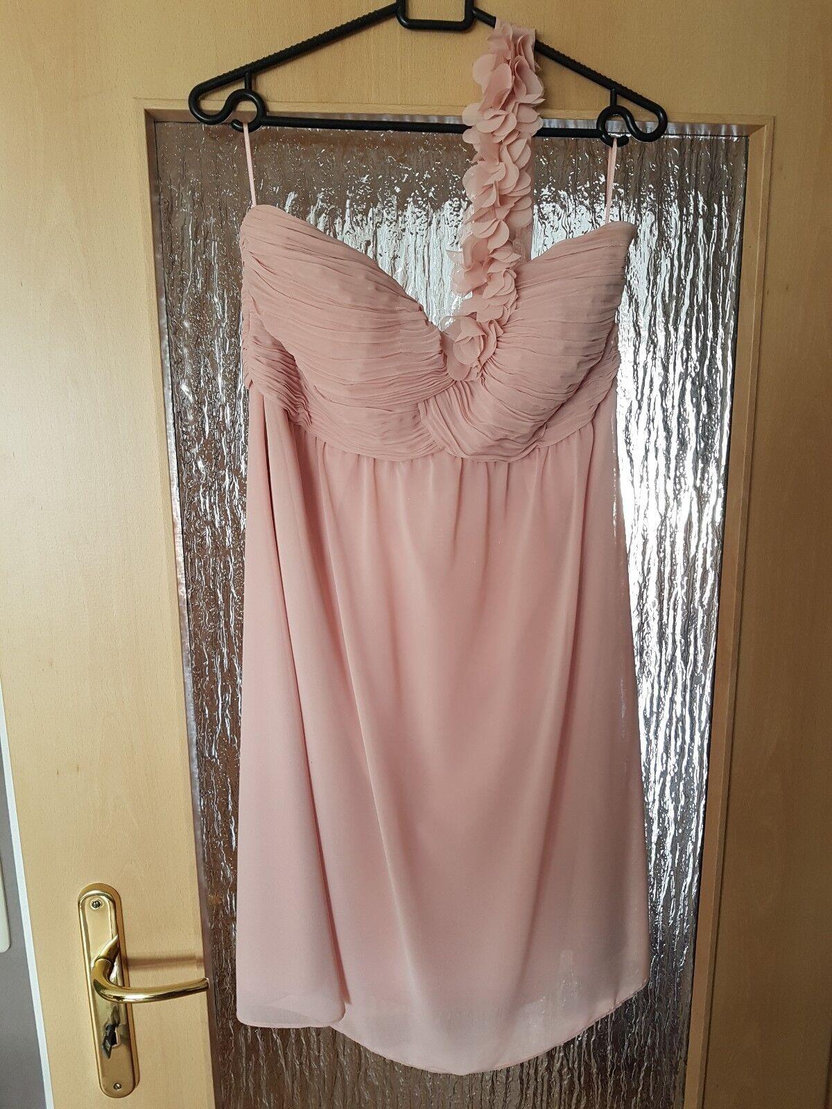 Esprit Kleid Abendkleid Cocktailkleid Rosa Gr.40 nur 1 mal getragen Wie Neu
