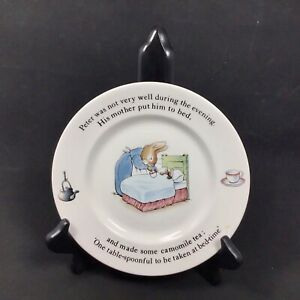 Peter-Rabbit-Nursery-by-Wedgwood-Plate-7-Replacement-Beatrix-Potter-See-Notes