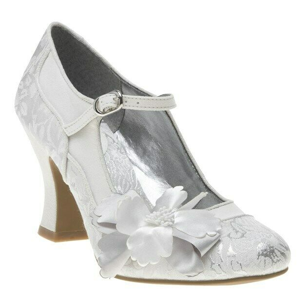 Ruby Shoo Madelaine High HEELS Women s Mary Jane Court Shoes With Corsage  UK 5 for sale online  589bf9ad5