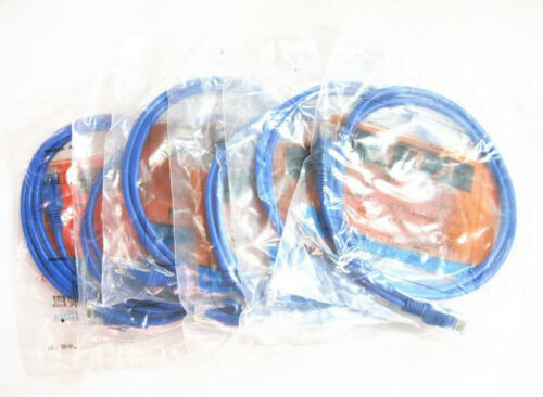 Hot 15FT foot 5M RJ45 CAT5 5e CAT5e Ethernet Network Lan Cable Patch Cord JB