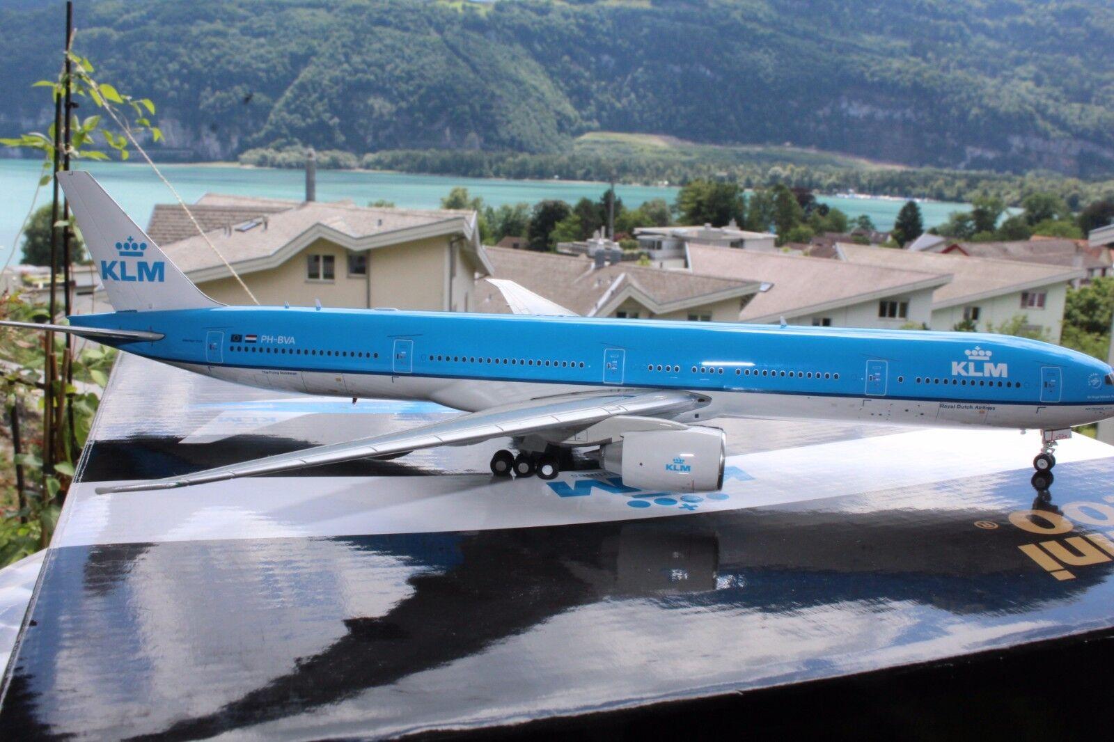KLM B-777-300ER (PH-BVA ), 1 200, Gemini Jets, Very Rare