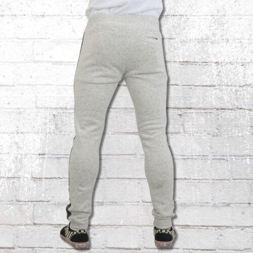 Pelle Pelle Slim Jogging Pantaloni Grigio Tapemasters traningshose SWEAT PANT UOMO ASH