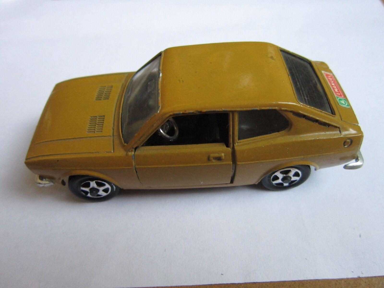 Modelino MEBETOYS  scala 1 43  FIAT 128 COUPE A - 77