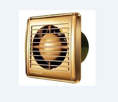 BLAUBERG AERO GOLD 100MM FAN BATHROOM EXHAUST VENTILATION WALL CEILING