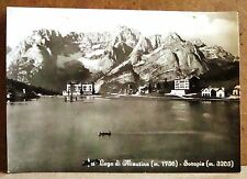 Lago di Misurina (m.1756) - Sorapis (m.3205) [grande, b/n, viaggiata]