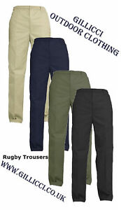 MENS-ELASTICATED-ADJUSTABLE-WAIST-CASUAL-SMART-WORK-PLAIN-RUGBY-TROUSERS-PANTS