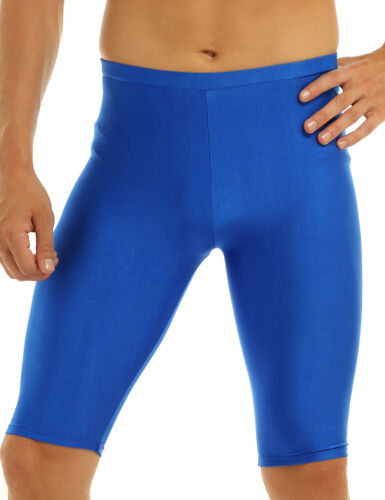 Mens Gym Sports Compression Shorts Quick Dry Base Layer Pants Tights Running