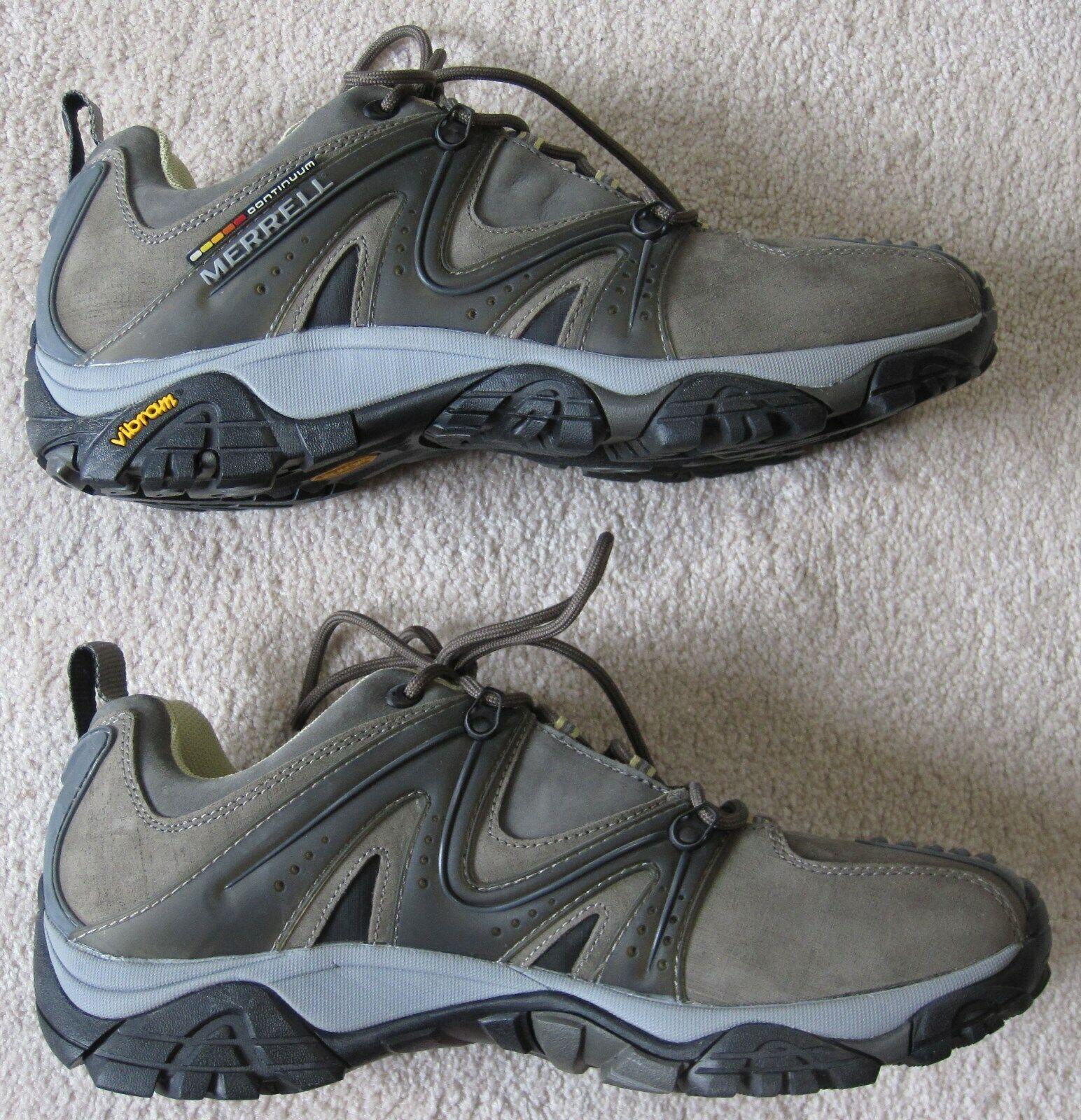 Nuevo reactor merrell calzado de cuero alpinista - amarre - suela de zapatos Vibram - 11,5 metros estilo masculino