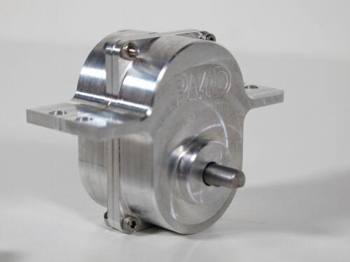 Speed Reduce Gear Box Transmission 4:1 Tamiya RC 1//14 Semi King Knight Hauler