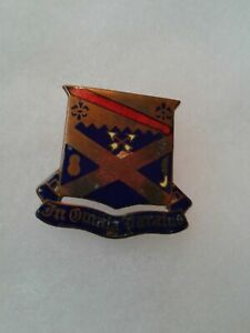 Authentic-WWII-US-Army-18th-Infantry-Regiment-DI-DUI-Unit-Crest-Insignia-NH
