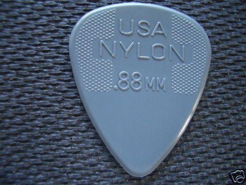 6 NEW Dunlop Nylon Standard Picks Plectrums 0.88mm DGR